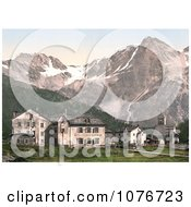 Suldenspitze St Gertraud Sulden Tyrol Austria Royalty Free Stock Photography by JVPD