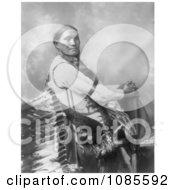 Sun Flower A Sioux Indian Woman Royalty Free Historical Stock Photography