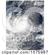 Super Typhoon Nanmadol On August 26th 2011 Royalty Free Stock Photography