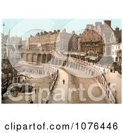 Tall Ship Docked By The New Road In Ramsgate Thanet Kent England Royalty Free Stock Photography
