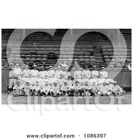 Team Portrait of the New York Yankees - Free Historical Baseball Stock Photography by JVPD