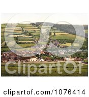 The Agricultural Village Of Taddiport And The Rolle Canal In Torrington Devon England United Kingdom Royalty Free Stock Photography