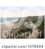 The Beach And Cliffs At Overstrand Norfolk England Royalty Free Stock Photography