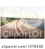 The Beach Pier And Promenade In Paignton On The Torbay Devon England UK Royalty Free Stock Photography