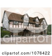 The Birthplace Of William Shakespeare In Stratford Warwickshire Royalty Free Stock Photography by JVPD