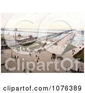 The Bridge And Pier In Southsea Portsmouth Hampshire England UK Royalty Free Stock Photography