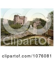 The Carisbrooke Castle In Carisbrooke Newport Isle Of Wight England Royalty Free Stock Photography
