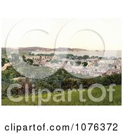 The Cityscape Of Paignton On The Torbay In Devon England UK Royalty Free Stock Photography