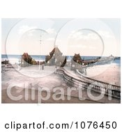 The Entrance To The Pier In Skegness England United Kingdom Royalty Free Stock Photography