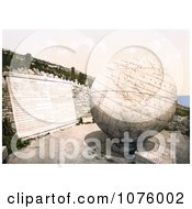 The Globe In Swanage Dorset Isle Of Purbeck England Royalty Free Stock Photography by JVPD