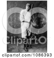 The Great Bambino With A Bat Free Historical Baseball Stock Photography by JVPD
