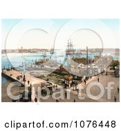 The Harbour In Portsmouth Hampshire England Royalty Free Stock Photography