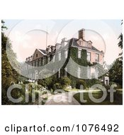 The Ivy Covered Troy House In Monmouth Wales Monmouthshire Gwent England UK Royalty Free Stock Photography