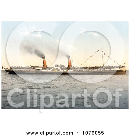the Koh-i-noor Paddle Steamer - Royalty Free Stock Photography  by JVPD