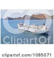 The Military Sealift Command Hospital Ship USNS Mercy Free Stock Photography