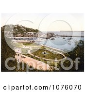 The Park Gardens And Waterfront Buildings On The Harbour In Torquay Torbay Devon England UK Royalty Free Stock Photography