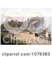 The Pier At Southend On Sea Essex England Royalty Free Stock Photography