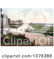 The Promenade And Pier In Skegness England UK Royalty Free Stock Photography