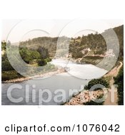 The River Wye Flowing Through Symonds Yat In The Forest Of Dean England Royalty Free Stock Photography