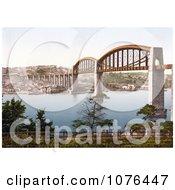 The Royal Albert Brunel Saltash Bridge Spanning The River Tamar In Plymouth Devon UK Royalty Free Stock Photography