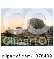 The Ruins Of Pevensey Castle In Wealden East Sussex England UK Royalty Free Stock Photography