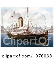 The Steamer Boat Lydia Royalty Free Stock Photography