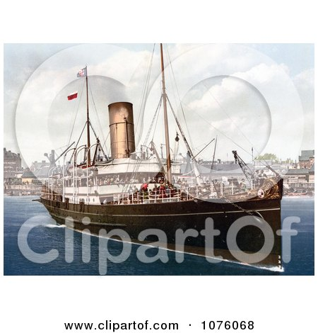 the Steamer Boat Lydia - Royalty Free Stock Photography  by JVPD