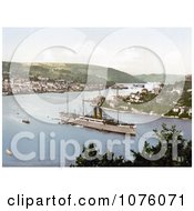The Steamer RMS Dunottar Castle Royalty Free Stock Photography by JVPD