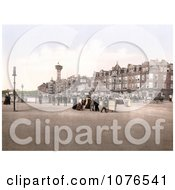 The Tower And Promenade In Morecambe Lancashire England United Kingdom Royalty Free Stock Photography by JVPD