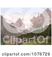 The Trafoi Hotel Tyrol Austria Royalty Free Stock Photography by JVPD