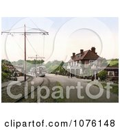 The Tram Station At The Groudle Glen Hotel In Onchan On The Isle Of Man England Royalty Free Stock Photography