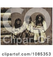 Three Kootenai Men Free Historical Stock Photography