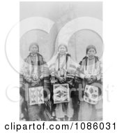 Three Wasco Women Free Historical Stock Photography by JVPD