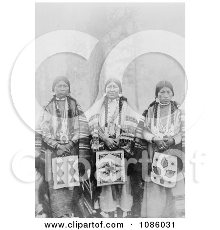 Three Wasco Women - Free Historical Stock Photography by JVPD