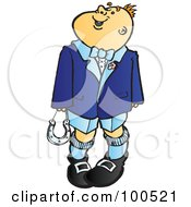 Royalty Free RF Clipart Illustration Of A Wedding Page Boy