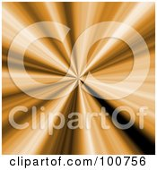 Royalty Free RF Clipart Illustration Of A 3d Orange Vortex Center