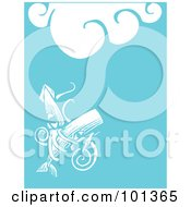 Royalty Free RF Clipart Illustration Of A Giant Squid Attacking A Whale