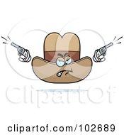 Angry Cowboy Hat Firing Pistils