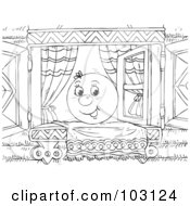 Free Clip Art of Window Seat