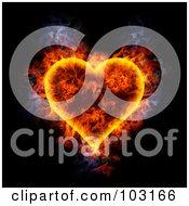 Blazing Heart Symbol