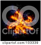 Royalty Free RF Clipart Illustration Of A Blazing Sun Symbol