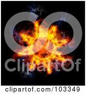 Blazing Solar Symbol