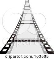 Film Strip Leading Forward