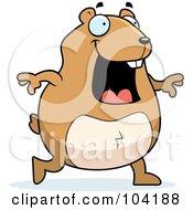 Happy Walking Hamster