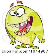 Cartoon Friendly Monster