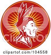 Native American Chief Logo
