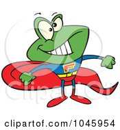 Cartoon Super Frog