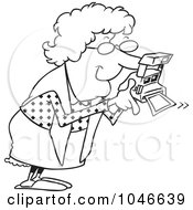 Royalty Free Grandma Illustrations by toonaday Page 1