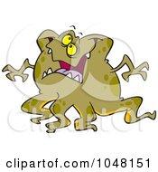 Cartoon Tentacled Monster