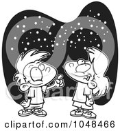 Royalty-Free (RF) Night Time Clipart, Illustrations ...